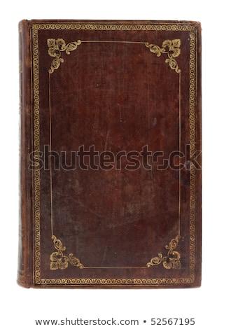 Modlitwy książki starych list atramentu pióro Zdjęcia stock © kalozzolak