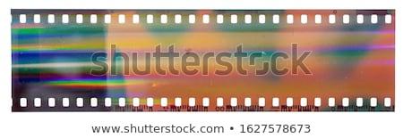 Filmstrip ayrıntılı örnek renkli vektör Stok fotoğraf © derocz