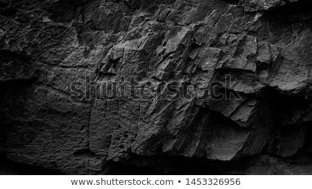 ongebruikelijk · oneven · spleet · steen · oppervlak · textuur - stockfoto © kurhan