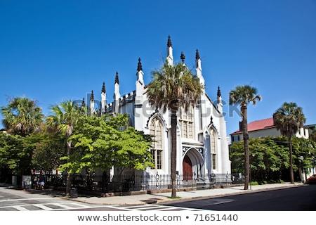 Huguenot Church in Charleston Stock photo © meinzahn