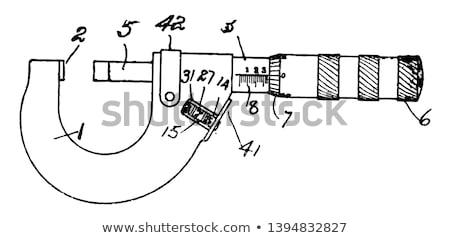 vintage micrometer stock photo © foka