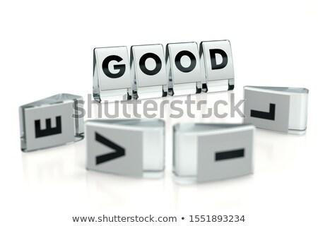 Bom lol brilhante ouro cinza profundo Foto stock © 3mc