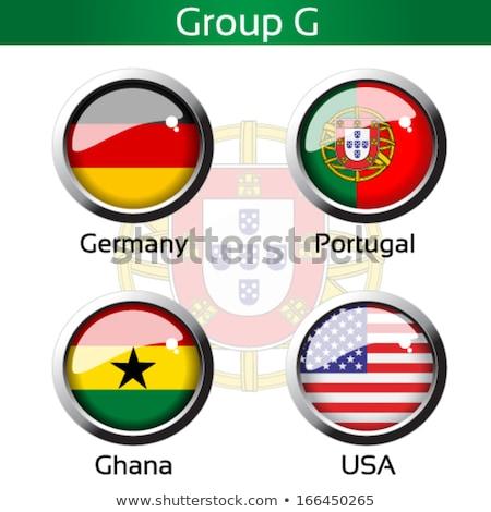 Stock fotó: Brazília · 2014 · csoport · rajzok · futball · golyók