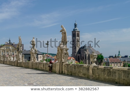 church of st james kutna hora czech republic stock photo © phbcz