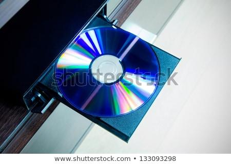 Disco cd giocatore tecnologia software suono Foto d'archivio © simpson33
