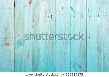 montázs · fa · deszkák · rozsdás · felület · fából · készült - stock fotó © fotoaloja