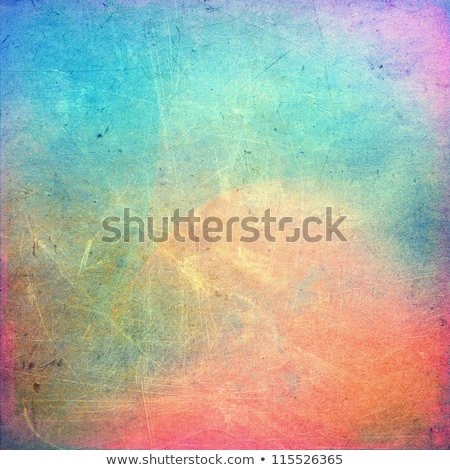 red grunge painted and scratched abstract background Stock photo © PixelsAway