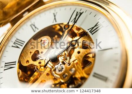 New Business on Pocket Watch Face. Stock photo © tashatuvango