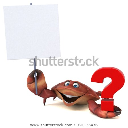 Seafood Questions Stock photo © Lightsource