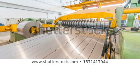 steel coil processing machine Stock photo © mady70