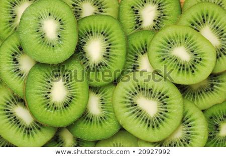 Patrón kiwi rebanadas detallado textura alimentos Foto stock © anelina