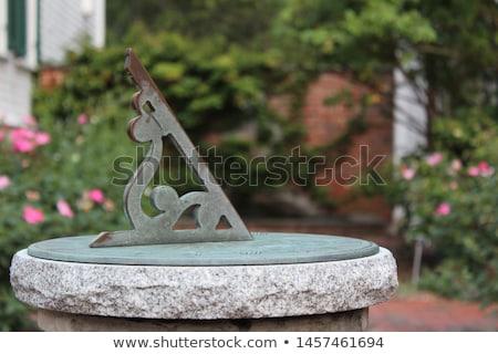 garden sundial Stock photo © nelsonart