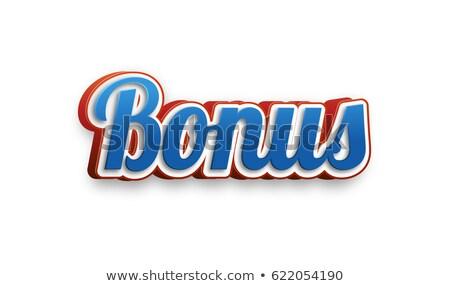 Metal Bonus Text stock photo © bosphorus