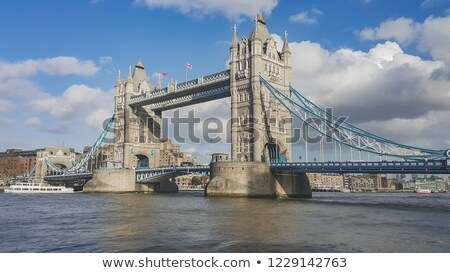 мнение · Skyline · Лондон · Англии · реке - Сток-фото © Joningall