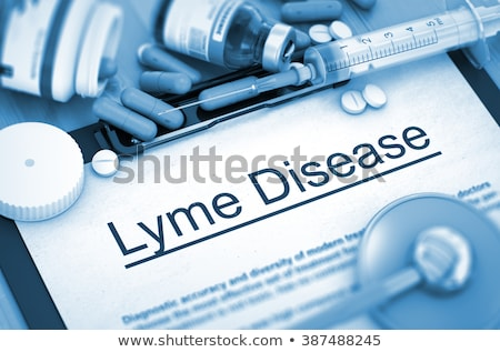 lyme disease diagnosis medical concept stock photo © tashatuvango