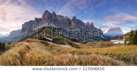 Zomer berg foto gepolariseerde filteren Stockfoto © Antonio-S