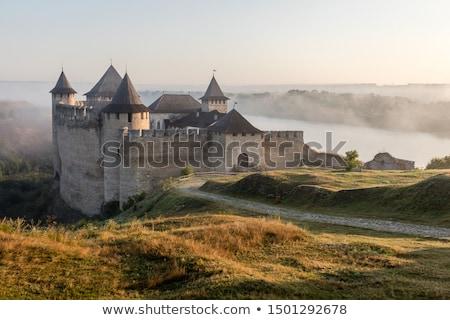 フラグ · ウクライナ · 背景 · 青 · 色 · 東部 - ストックフォト © tang90246