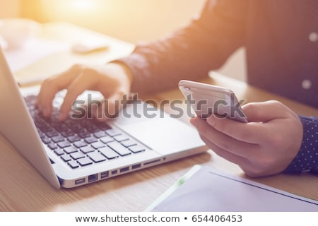 Contact us ! stock photo © andreasberheide