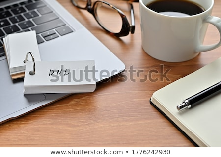 Hosting internet woorden online computer Stockfoto © stuartmiles