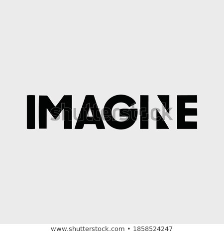 Idea - Word on Grunge Poster in Flat Design. Stock photo © tashatuvango