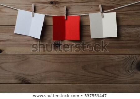 3  カード 文字列 木材 ストックフォト © frannyanne