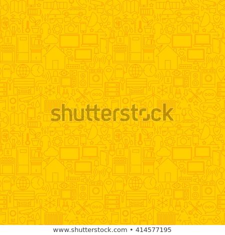 ノートパソコン · 黄色 · ベクトル · アイコン · デザイン · ノートブック - ストックフォト © rizwanali3d