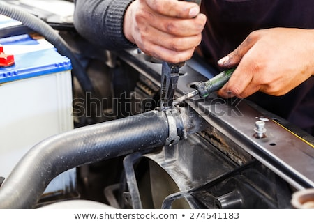 Radiator chłodzenie streszczenie komputera technologii Zdjęcia stock © OleksandrO