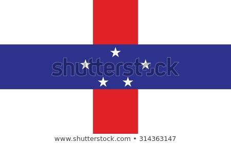 Holanda bandeira ilustração aquarela fundo arte Foto stock © prill