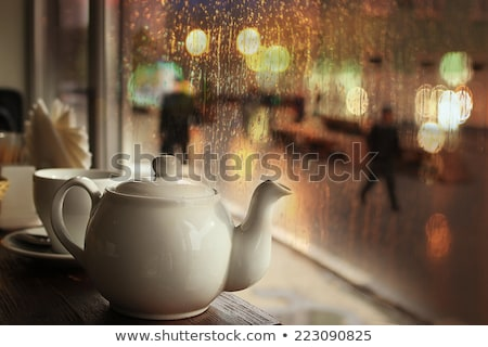 shopping on a rainy day stock photo © stevanovicigor