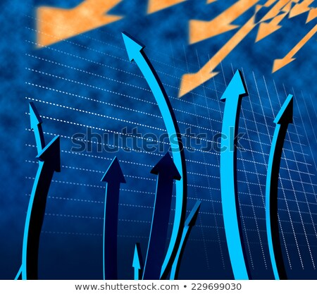 Arrows Up Represents Improvement Advance And Pointing Stock photo © stuartmiles