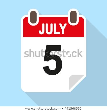 5th july stock photo © oakozhan
