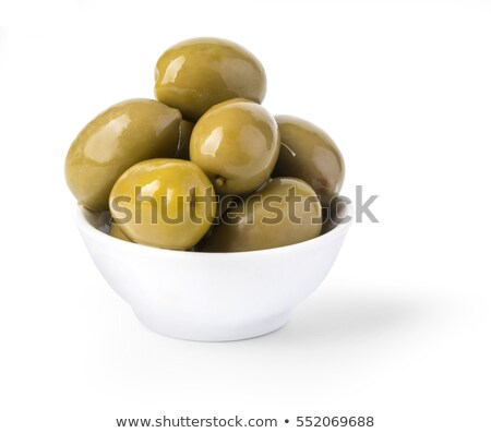 Brine-cured green olives Stock photo © Digifoodstock