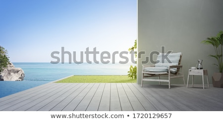 sea view on sunset stock photo © artjazz
