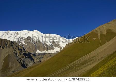 Tilicho lake ( 4,919 m ) in the Annapurna range of the Himalayas Stock photo © meinzahn
