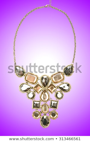 Nice jewellery isolated on the white background Stock photo © Elnur