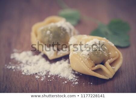 Spenót ravioli felület közelkép fotózás olasz Stock fotó © monkey_business