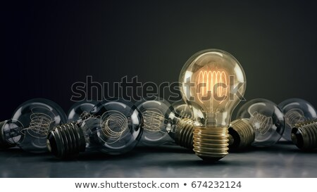 Light Bulb Dramatic  Stock photo © albund