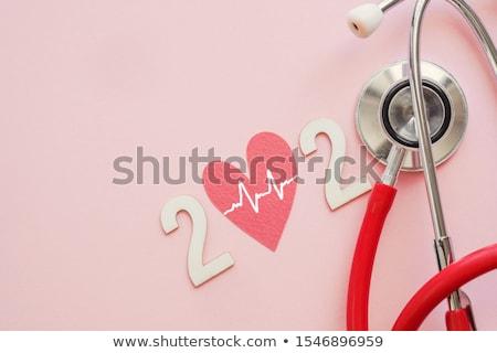 Tıbbi tıp gol sağlık başarı simge Stok fotoğraf © Lightsource