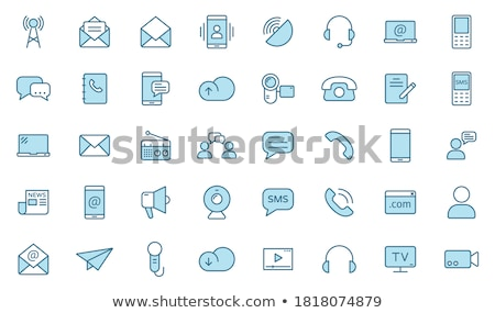 Office icon set 2 stock photo © ordogz