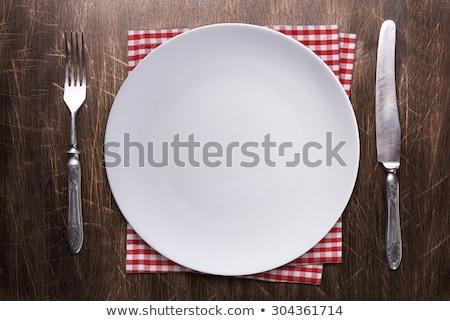 vork · witte · voorraad · foto · textuur - stockfoto © stephaniefrey