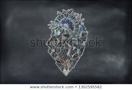 Leukemia on Chalkboard. 3D Illustration. Stock photo © tashatuvango