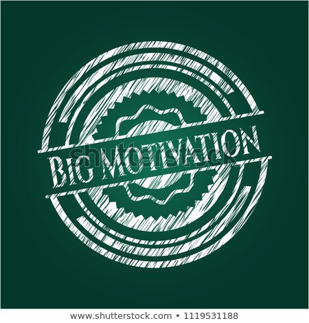 Dream Big - Doodle Green Text. Business Concept. Stock photo © tashatuvango