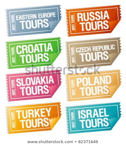 icon for traveling israel stock photo © olena