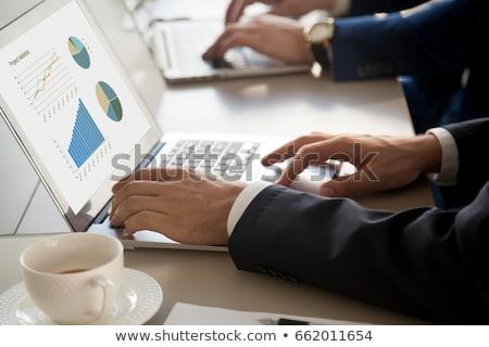 Market Segmentation Concept on Laptop Screen. Stock photo © tashatuvango
