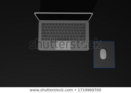 No - Aluminum Keyboard Concept. 3D. Stock photo © tashatuvango