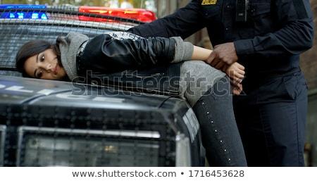 девушки наручники маске белье игры Сток-фото © sharpner