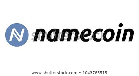 Namecoin - Cryptocurrency Colored Logo. Stock photo © tashatuvango