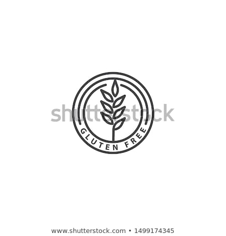gluten free stamp sign cardboard background stock photo © barbaliss