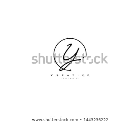 письме подписи логотип символ дизайна фон Сток-фото © meisuseno