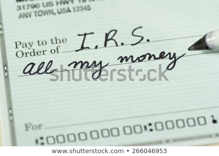 Painful Tax Stock photo © Lightsource